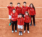 Las promesas del tenis en Pamplona