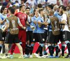 Suárez sella el pase de Uruguay y manda a casa a los saudíes