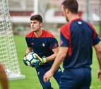 Osasuna amplía el contrato de Juan Pérez hasta junio de 2022