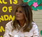 Melania Trump elogia la labor de Lebron James tras los ataques del presidente