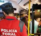 Policía Foral interviene de madrugada en una