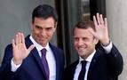 Macron y Sánchez tratarán el lunes los cierres de pasos fronterizos en los Pirineos