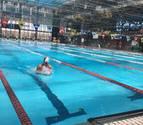 Gran participación de los nadadores navarros en Vitoria