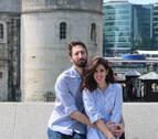 Leire y Guillermo, una pareja navarra con un doble reto laboral en Londres