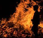 Herido por quemaduras un hombre que cayó a una hoguera de San Juan