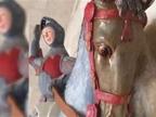 Patrimonio Histórico estudiará si la talla de San Jorge de Estella puede recuperarse