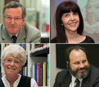 Rafael Moneo, Margaret S. Archer, Robert Picard y Ruth Fine, honoris causa por la UN