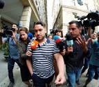 Piden 9 y 6 meses para tres miembros de la Manada por robar gafas en San Sebastián