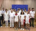 Entrega de seis premios para comenzar las fiestas de Barañáin