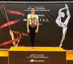 Ander Olcoz logra dos medallas en el Campeonato de España de gimnasia rítmica