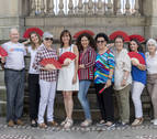 Aires sanfermineros para la India con la campaña solidaria de la Fundación Vicente Ferrer