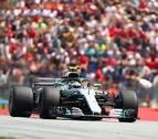 Bottas logra la 'pole' en Austria, la primera de la temporada