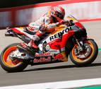 Márquez se quita un peso de encima con el mejor tiempo en el Gran Premio de Holanda