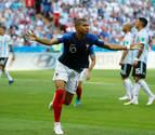 Mbappe manda a Messi a casa