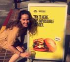 Una navarra en Silicon Valley creando la 'hamburguesa imposible'