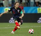 Croacia avanza a cuartos en los penaltis