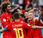 Bélgica remonta a Japón en el tiempo de descuento