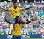 Brasil derrota a una valiente México y se clasifica para cuartos