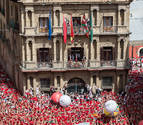 Prohíben acceder al chupinazo con banderas o telas de gran tamaño