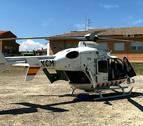 Trasladada en helicóptero una niña de 7 años tras una caída de bicicleta en Cadreita
