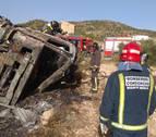 Fallece al quedar atrapado en su camión mientras ardía en Abanilla (Murcia)