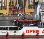 Charla en Pamplona del fundador de Open Arms sobre  salvar vidas en el mar