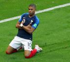 La magia de Mbappé contra la garra charrúa, por un puesto en semifinales