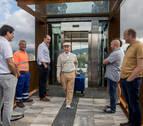 Entra en funcionamiento el ascensor de Mendillorri