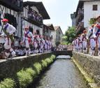Lesaka honra a San Fermín en su día grande