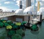 Rotterdam acoge el primer parque reciclado con desechos plásticos del mar