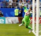 Pickford lleva a Inglaterra a una semifinal mundial 28 años después