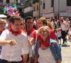 Pablo Casado, increpado en Pamplona durante su visita a los Sanfermines
