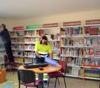La biblioteca pública de Andosilla cierra durante los dos próximos meses