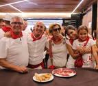 De unas ostras en la Estafeta a una comida en las peñas, los Sanfermines de Elena S. Sánchez