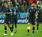 Francia, en la final tras ganar a Bélgica