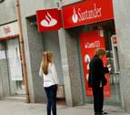 Ocho empleados del Banco Santander se acogen al ERE en Navarra