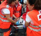 Un vecino de Ansoáin de 25 años, entre los heridos del quinto encierro