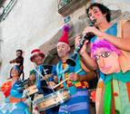 Los Titiriteros de Binéfar cierran este viernes el ciclo de Teatro de calle