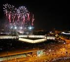 276.000 personas han visto los fuegos artificiales en Yanguas y Miranda y vuelta del Castillo