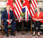 Trump dice que la relación con el Reino Unido es