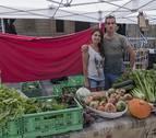 Estella se convierte desde ayer en una ciudad con dos mercados