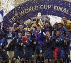 Francia es campeona del mundo