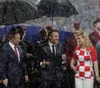 La presidenta de Croacia, Kolinda Grabar, protagonista en la entrega de premios