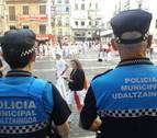 Policía Municipal registra 529 denuncias en Sanfermines, un 14% más que en 2017