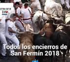 Revive los encierros de San Fermín 2018 desde tu Tablet