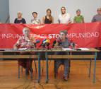 Sanfermines 78 asume la responsabilidad de las pancartas colocadas en San Fermín