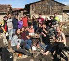 Bosnia, nueva ruta de refugiados para la voluntaria navarra Leire Itoiz