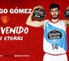 Basket Navarra incorpora al joven ala-pívot Rodrigo Gómez