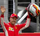 Vettel saldrá desde la 'pole' en Alemania; Sainz, octavo