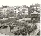 Pamplona años 20 (II): Juras de bandera en la Plaza del Castillo